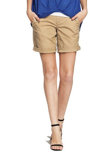 171505 Cool Touch Maternity Long Shorts