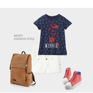 171874 Minnie 2 pc Maternity and Nursing Shirt