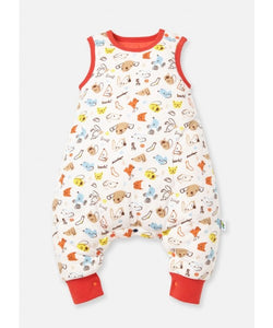 190002O-M Temp. Balance Sleep Suit 0.5-2.5 Tog Small- Doggy