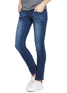171520B3 Washed Out Maternity Pencil Jeans