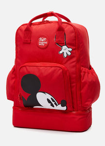 190801 Mickey Mouse Red Diaper Bag