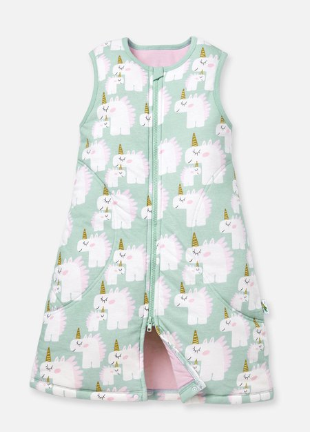 190001G-L Temp. Balance Sleep Suit 0.5-2.5 Tog Large - Unicorn