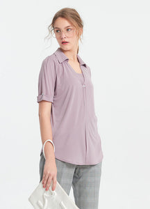 I-Cool V-Neck Maternity and Nursing Blouse