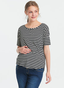 I-Cool Round Neck Maternity and Nursing Top