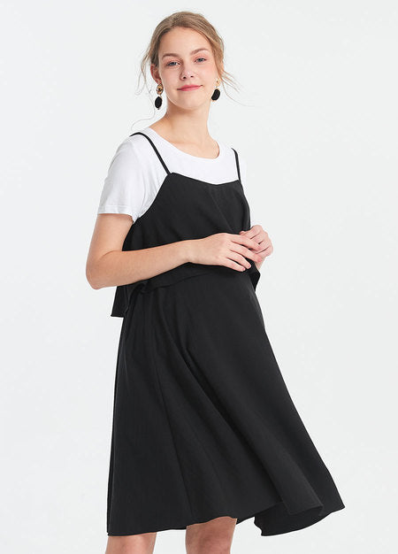 191016X Jumper Maternity and Nursing Dress