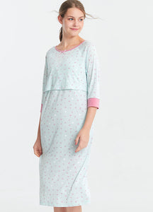 Disney Maternity & Nursing Night Gown