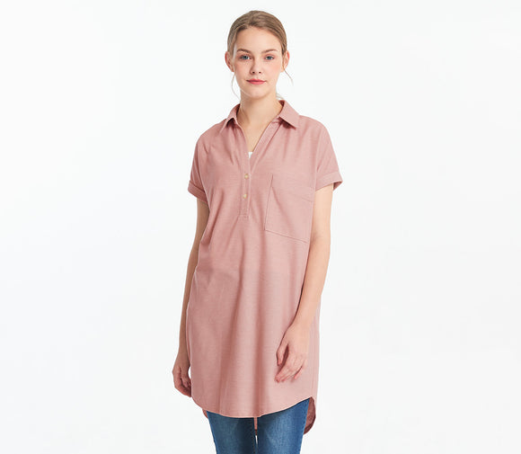 Cool Quick Drying Maternity and Nursing Polo