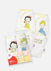 190824 Disney Princess Cocoon Swaddle Wrap 2 Pack