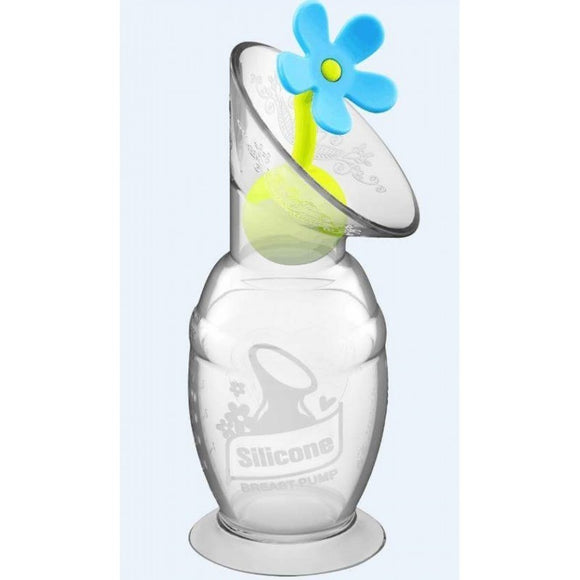 Haakaa Pump 100ml  w/ Flower Stopper Set