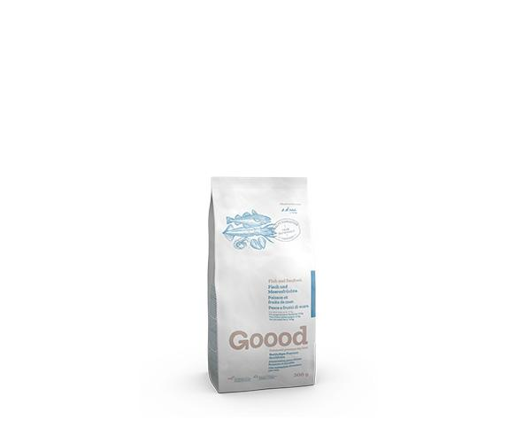 Sustainable Fish and Seafood Dry Food for Small Dogs Dry Food Goooddog 300g