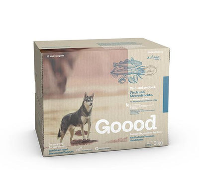 Sustainable Fish and Seafood Dry Food for Small Dogs Dry Food Goooddog