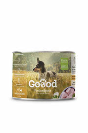 Organic turkey wet dog food
