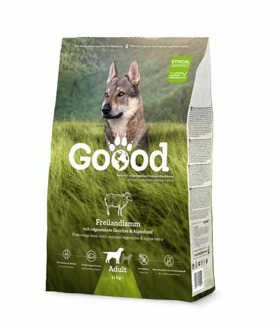 Free Range Lamb Dry Food for Adult Dogs Dry Food Goooddog