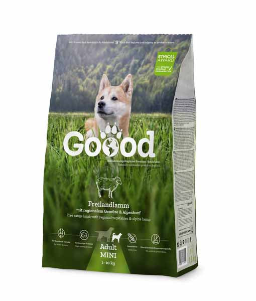 Free Range Lamb for Small Dogs Dry Food Goooddog