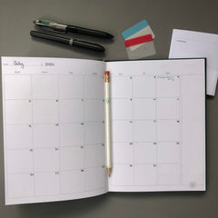 Origami Day Planner Book Setup