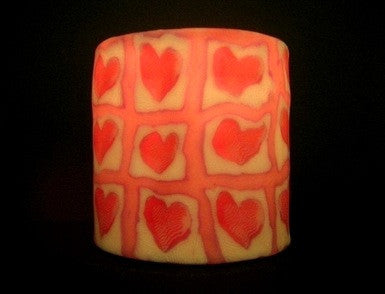 Heart Candle Lamp Nightlight