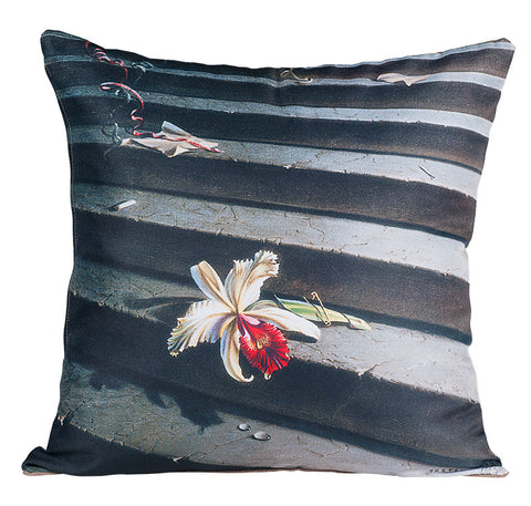 The Lost Orchid Pillow Cover
