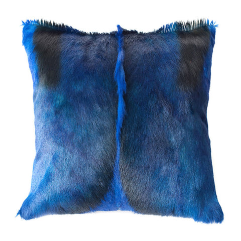 Blue Springbok Pillow Cover