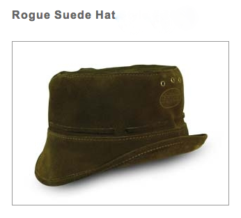 Rouge Suede Floppy Hat 44b6a0bf76d