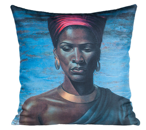 Zulu Girl Pillow Cover