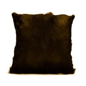 Chocolate Springbok Pillow Cover