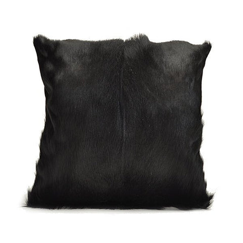 Black Springbok Pillow Cover