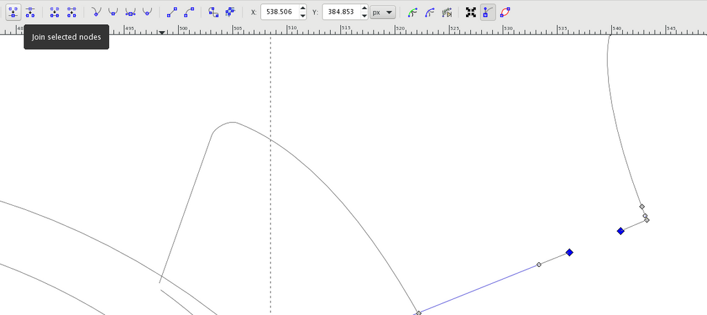 Merging and Welding Shapes in Inkscape | SendCutSend