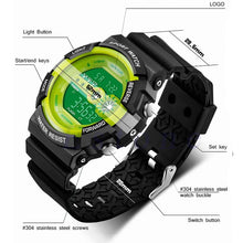 Load image into Gallery viewer, Men's Military Outdoor Stainless Steel Waterproof LED Digital Quartz Watch