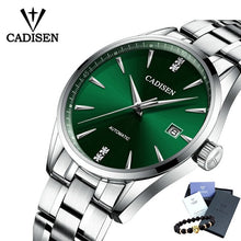 Load image into Gallery viewer, Men's CADISEN Luxury Stainless Steel Business Watch