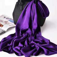 Load image into Gallery viewer, Women's Silk Scarf/Shawl