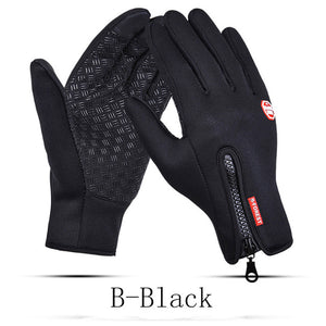 Men's Fleece Waterproof Gloves
