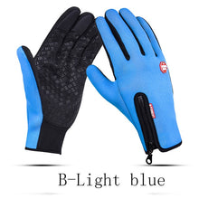 Load image into Gallery viewer, Men's Fleece Waterproof Gloves