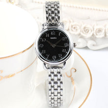 Load image into Gallery viewer, Women's Luxury Quartz Small Dial Stainless Steel Bracelet Watch