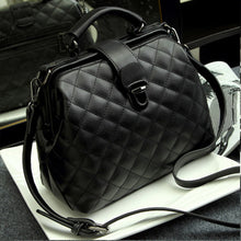 Load image into Gallery viewer, Women's Designer Leather Quilted Shoulder Cross Body Handbag