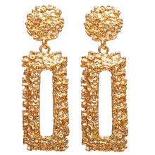 Load image into Gallery viewer, Women's Gold Drop Earrings