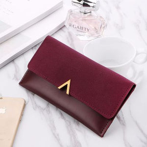 Women's Long Luxury Leather Wallet