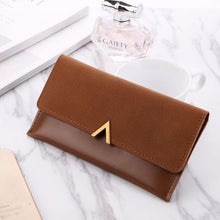 Load image into Gallery viewer, Women's Long Luxury Leather Wallet