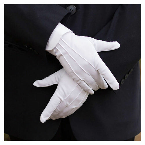 Women's Formal White Gloves