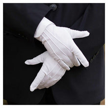 Load image into Gallery viewer, Men's White Formal Gloves