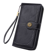 Load image into Gallery viewer, Women's RFID Leather Long Wallet