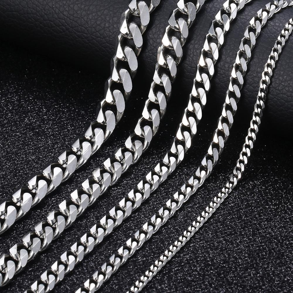 Men's Stainless Steel Cuban Chain