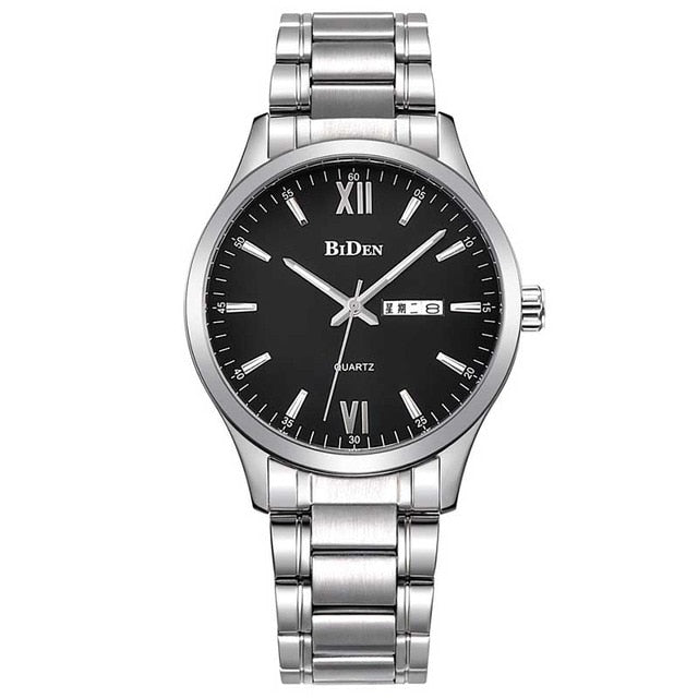 Men's Business Casual Stainless Steel Watch