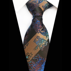 Men's Luxury 100% Silk Ties