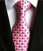 Load image into Gallery viewer, Men's Fashion 100% Silk Ties