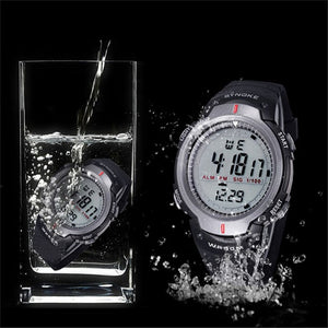 Men's Military Sports Outdoor LED Digital Watch