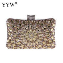 Load image into Gallery viewer, Women's Designer Rhinestone Clutch Evening Bag