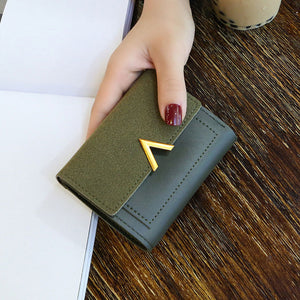 Women's Short Leather Wallet