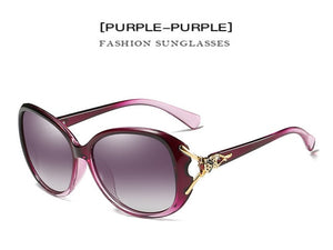 Women's Fashion Sunglasses (Polarized, UV400, Anti-Reflective, and Anti-Vertigo)