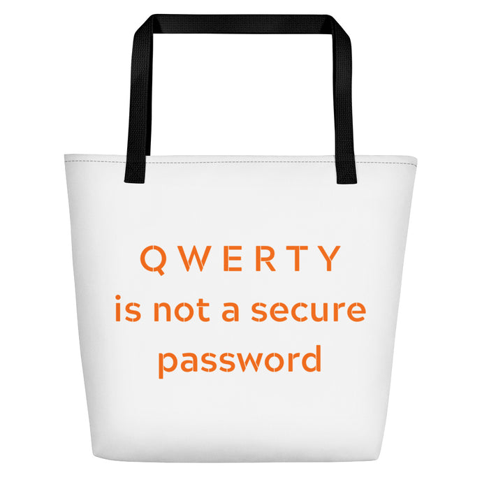 QWERTY Beach Bag