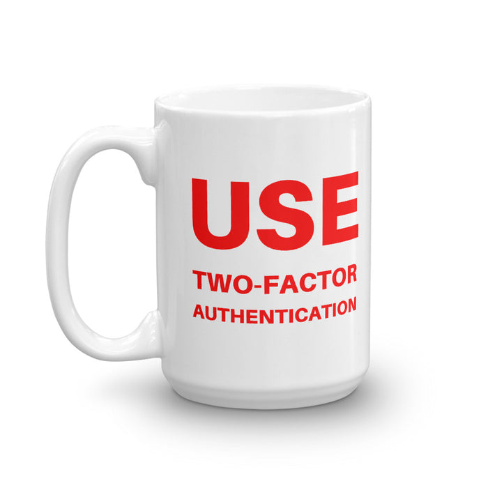 Two-Factor Authentication Mug